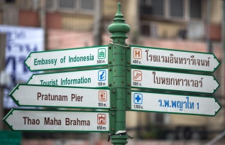 Bangkok tujuan