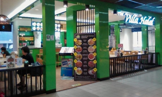 villa halal halal cafe bandara DMK bangkok