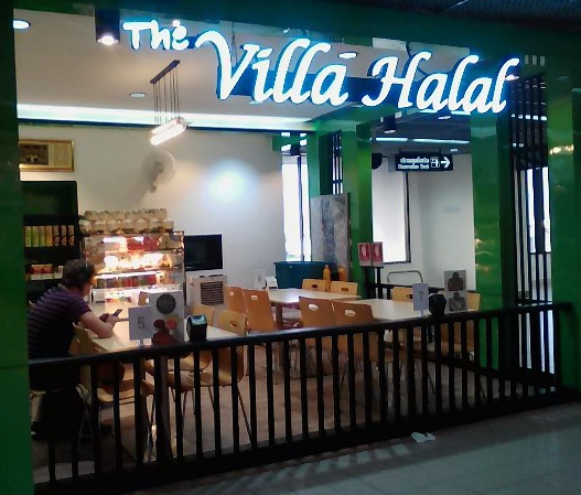 villa halal halal cafe don muang airport bangkok