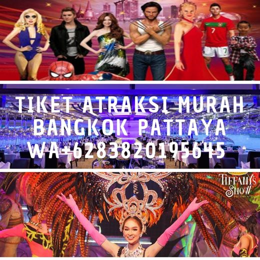 Tiket Atraksi Wisata Bangkok Pattaya Hua Hin Murah