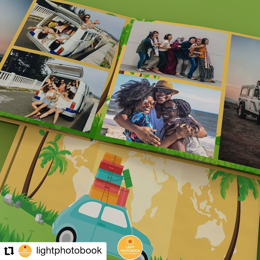 Membuat travel Memorabilia photobook