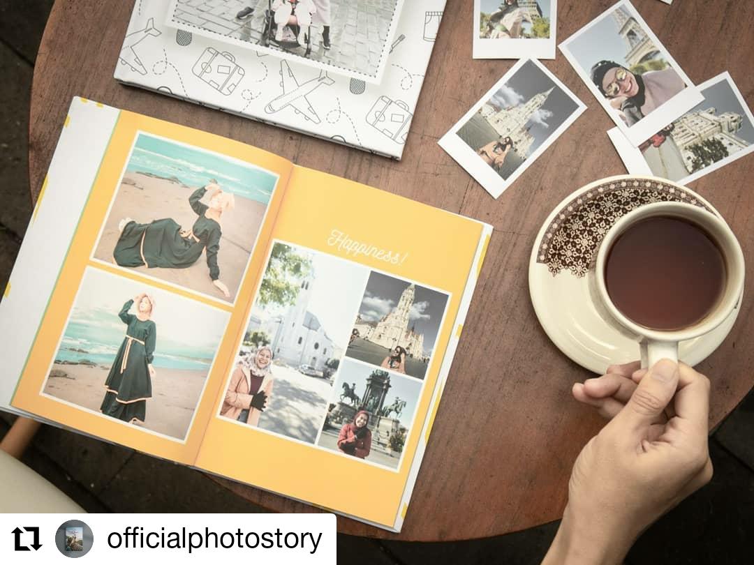 Membuat travel Memorabilia photobook