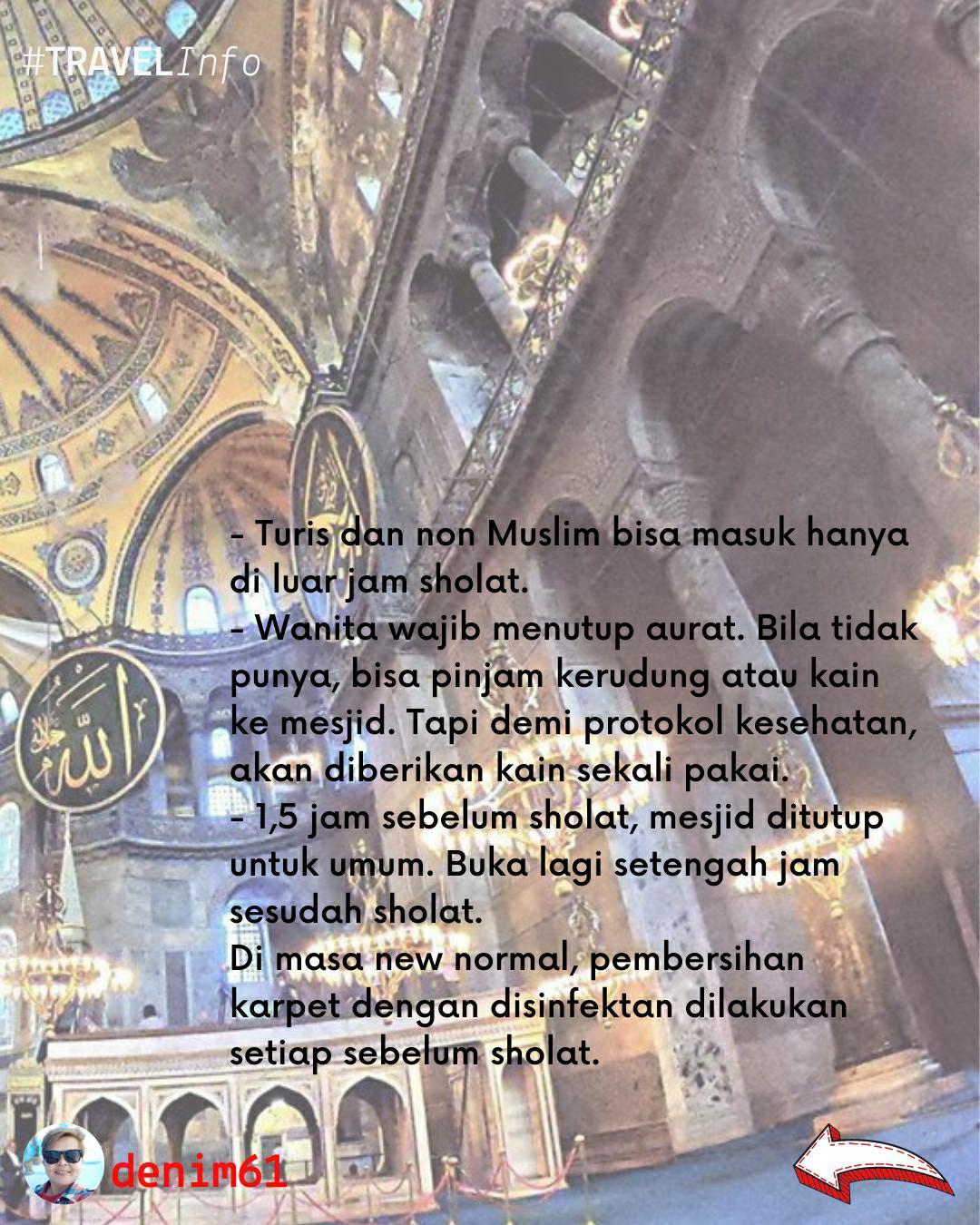 Mesjid Hagia Sophia Mosque 2020