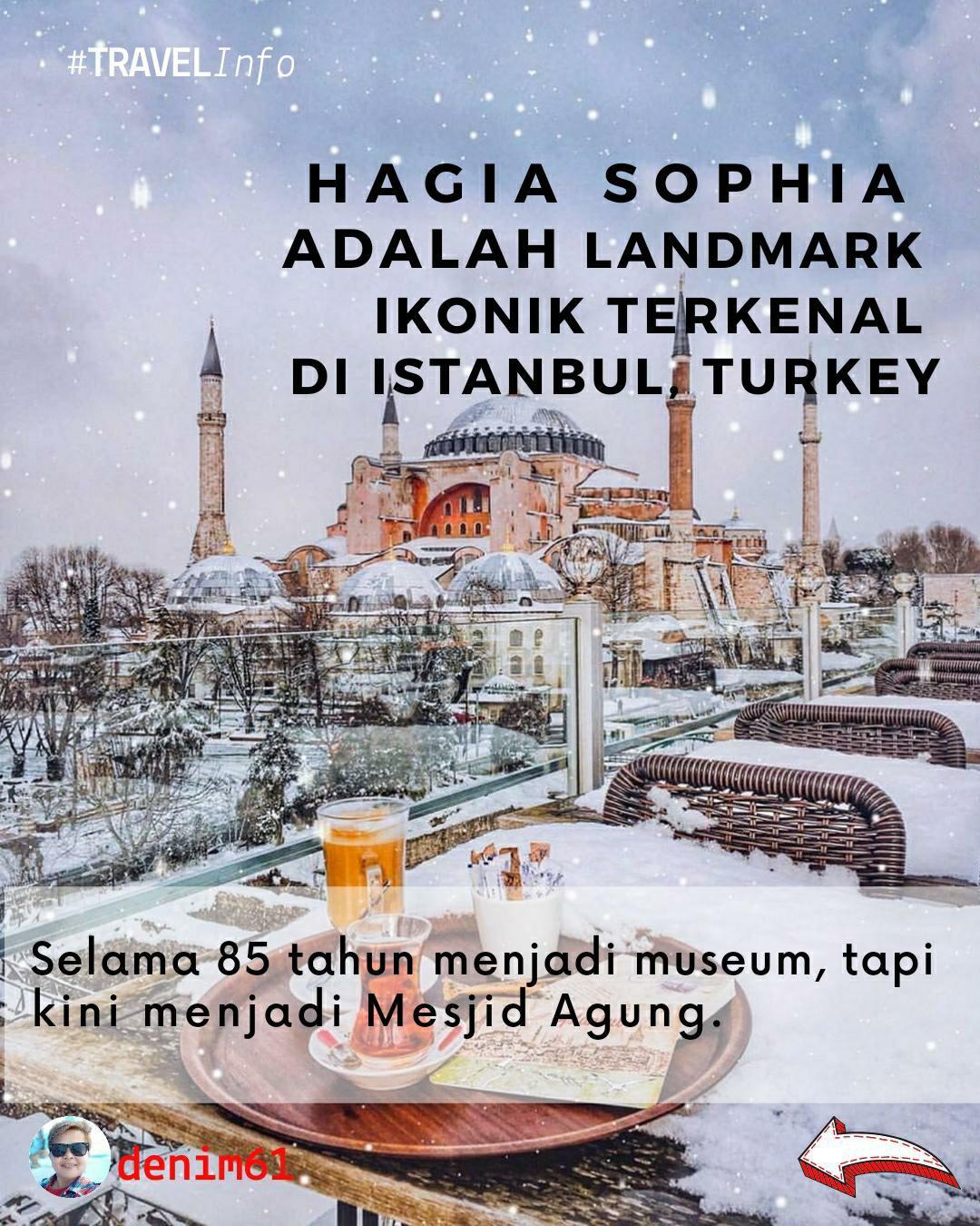 Hagia Sophia mosque 2020
